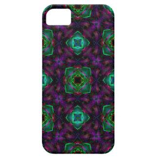 Purple Pattern Fractal Art iPhone SE/5/5s Case