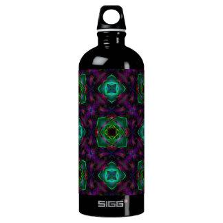 Purple Pattern Fractal Art SIGG Traveler 1.0L Water Bottle