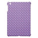 purple pattern II iPad Mini Cover