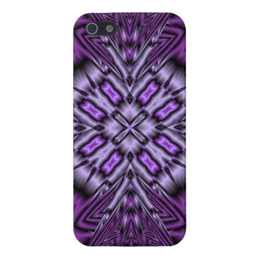 Purple Pattern iPhone 5 Covers