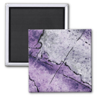 Purple Pattern Magnet