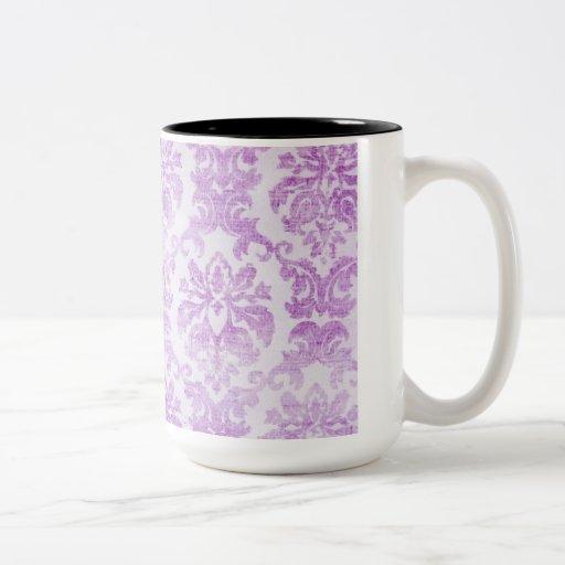 Purple Pattern Matching Kitchen Decor Coffee Mug