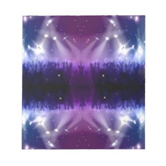 Purple pattern notepad