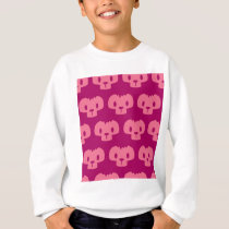 Purple Pattern Sweatshirt