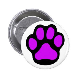 Purple Paw Button