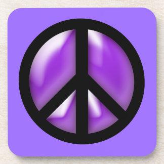 Purple Peace Coasters