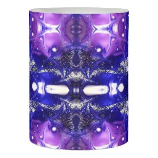 purple peace flameless candle