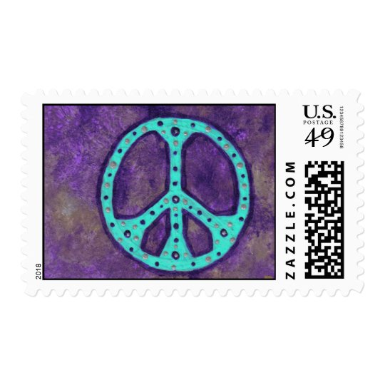 Purple Peace Postage