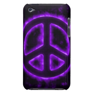 Purple Peace Sign iPod Touch Cover