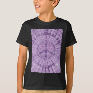 Purple Peace Sign Tie Dye PhatDyes T-Shirt