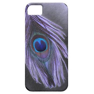 Purple Peacock Feather iPhone 5 Case