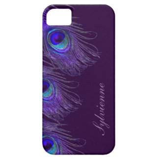 purple peacock iphone 5S case iPhone 5 Cover