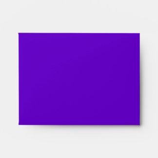 Purple Peacock Wedding Invitations Envelopes