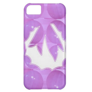 PURPLE Pearl - Wreath Design based Pattern Cover For iPhone 5C