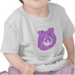 PURPLE Pearl - Wreath Design based Pattern Tee Shirt