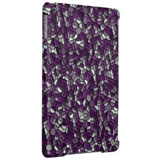 Purple Pebbles iPad Air Cases