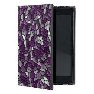 Purple Pebbles iPad Mini Covers