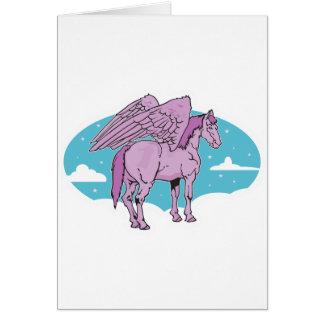 purple pegasus card