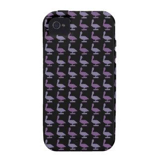 purple pelicanes Case-Mate iPhone 4 case