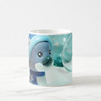 Purple Penguin III Coffee Mug