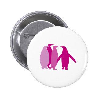 Purple Penguins Button