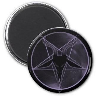 Purple Pentagram Magnet