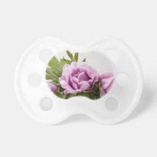 Purple Peonies Bouquet Pacifier
