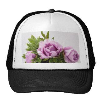 Purple Peonies Bouquet Trucker Hat