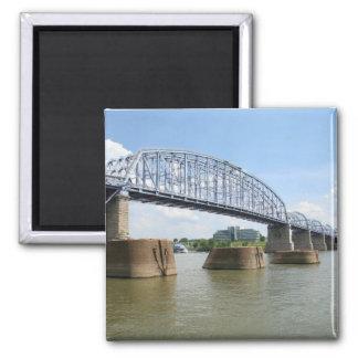 Purple People Bridge magnet
