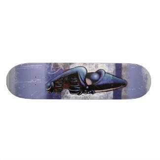 Purple People Eater Skateboard Deck