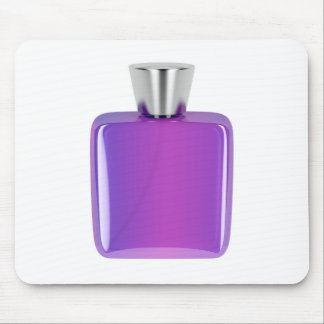 Purple perfume bottle mouse pad