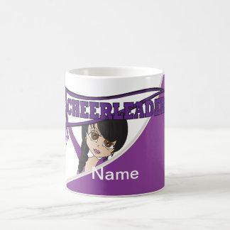 Purple Personalize Cheerleader Mugs