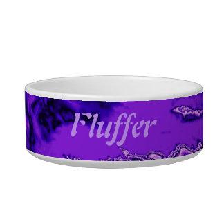 Purple Pet Eater Bowl