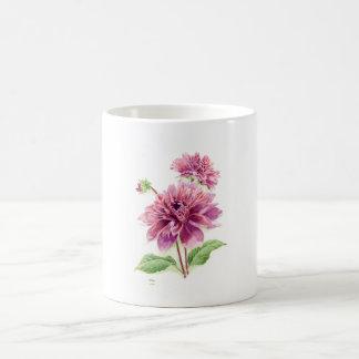 Purple Petal Extravaganza Classic White Coffee Mug