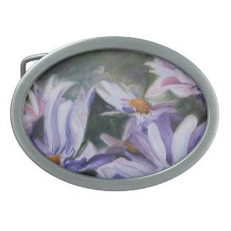 Purple Petals Belt Buckle