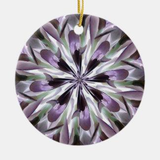 Purple Petals Ornament