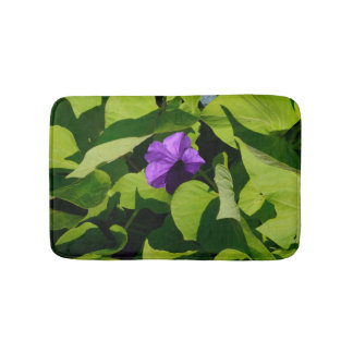 Purple Petunia Bath Mat