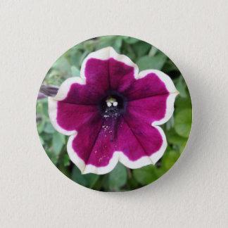 Purple Petunia Button