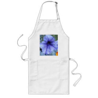 Purple Petunia Long Apron