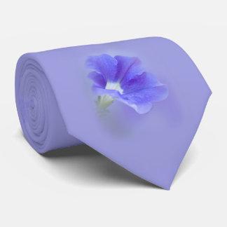 Purple Petunia Neck Tie