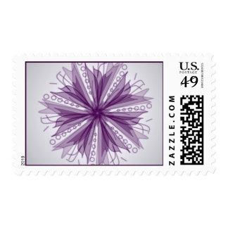 Purple Petunia Postage