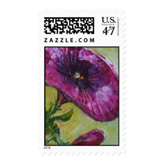 Purple Petunia Stamp