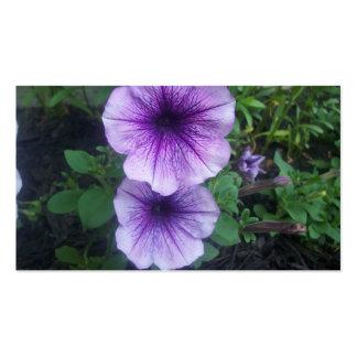 Purple Petunias Business Cards