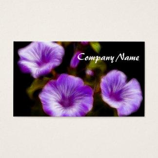 Purple Petunias Business Card