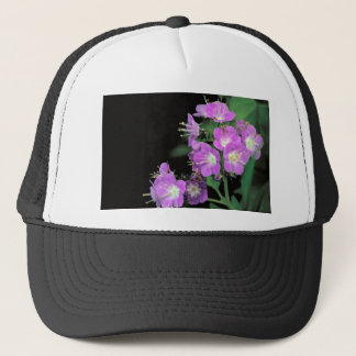 purple phacelia trucker hat