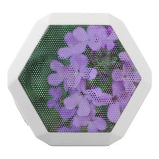 Purple Phlox Flowers White Boombot Rex Bluetooth Speaker