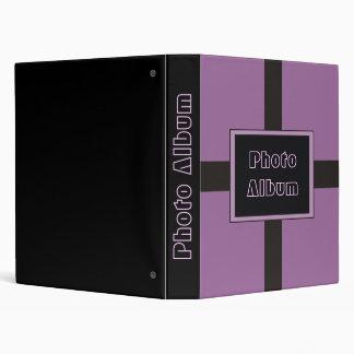 Purple Photo Album 3 Ring Binder