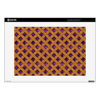 """Purple Pie 15"""" Laptop Skin"""