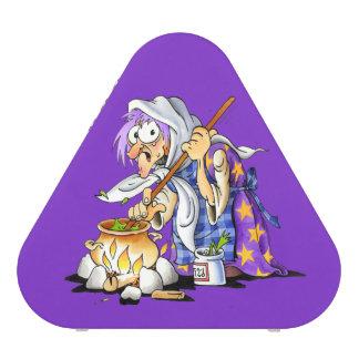 Purple Pieladium Portable Bluetooth Speakers Witch