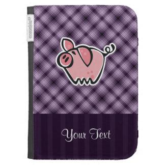 Purple Pig Kindle Keyboard Cases